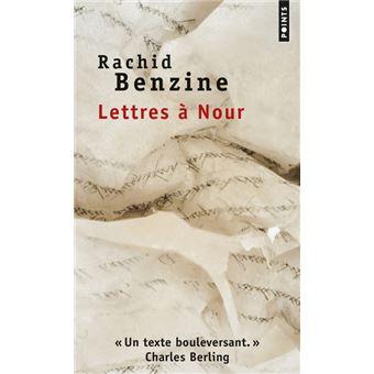 Lettres à Nour de Rachid Benzine